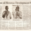 'Create Oil Revenue Development Fund'