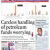 Careless handling of petroleum funds worrying